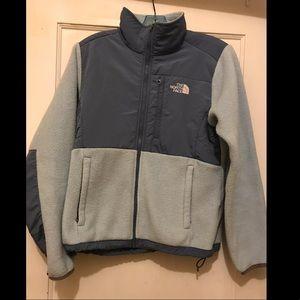 Blue North Face Denali Jacket